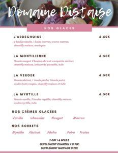 Carte Brasserie 2/2
